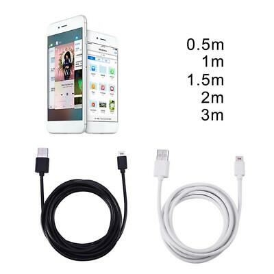 For iPhone 6 7 50cm/1M/1.5M/2M/3M Micro USB Fast Date Sync Charging Cable AB