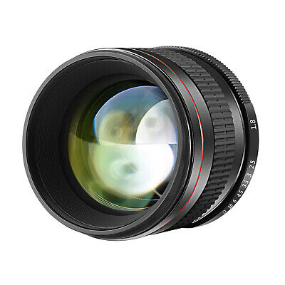 Neewer Multi-Coated 85mm f/1.8 Portrait Aspherical Telephoto Lens for Canon