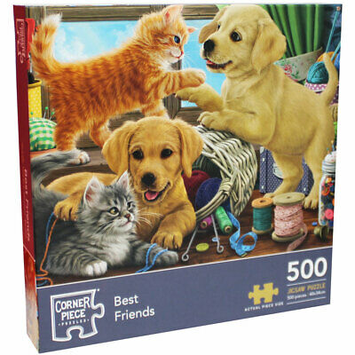 Best Friends 500 Piece Jigsaw Puzzle, Toys & Games, Brand New