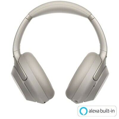 Sony WH-1000xm3/S Wireless Noise Canceling Overhead Headphones - Silver NEW