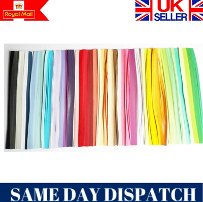 2mm Quality Quilling Paper 4400 strips 44 colours RED PURPLE YELLOW PINK GREEN