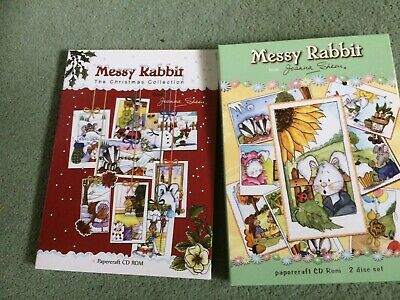 Joanna Sheen Messy Rabbit cd roms x2