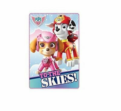 PAW PATROL Fleece Blanket TO THE SKIES Design 100 x 150cm