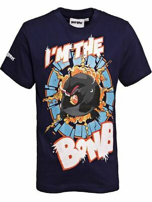 ANGRY BIRDS I'm The BOMB Youth T-Shirt  Kids Angry Bird Shirts Age 3-13 Years