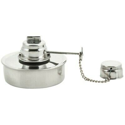 Eisco Alcohol Burner - Stainless Steel