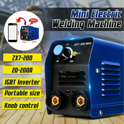 200AMP portable Welding Inverter Welder Machine MINI for Household ZX7-200 IGBT