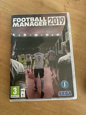 Football Manager 2019 PC, NEVER USED ONCE