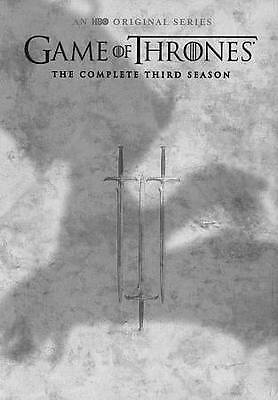 Game of Thrones: Season 3 (DVD, 2016, 5-Disc Set) WORLD SHIP AVAIL