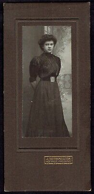 Cabinet Photo Woman, phot. J. Werkmeister, Freising, Germany (4434)
