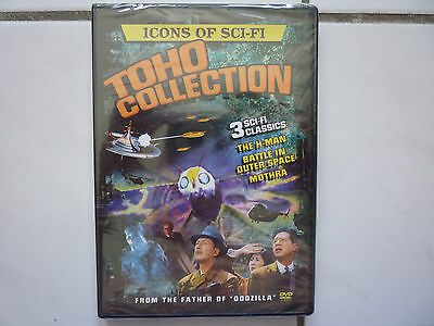 Icons of Sci-Fi Toho Collection (H-Man Battle in Outer Space Mothra 3x DVD OVP!)