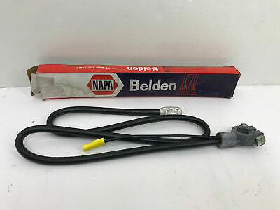 """OEM NOS NAPA BELDEN #73814 Battery Cable ~ 4 Gage Wire ~ 38"""" Length"""