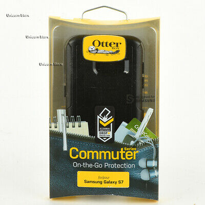 OtterBox Commuter Series Hard Snap Case Cover For Samsung Galaxy S7 - Black