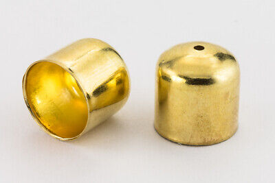 10mm Gold Smooth Rounded Bead Cone #COA001