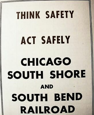 CHICAGO SOUTH SHORE & South Bend Railroad 1950 Public System