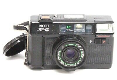 RICOH AF-5 35mm Compact Camera With Ricoh 38mm f/2.8 Lens - W71