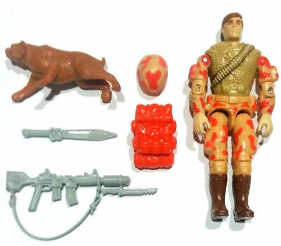 1988 G.I Joe Spearhead /& Max Figure Backpack Accessory