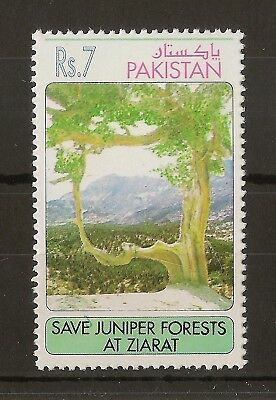 Pakistan 1993 7R Juniper Forest SG908 MNH