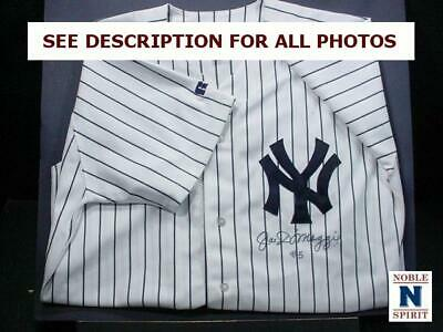 NobleSpirit  NO RESERVE (3970) Joe Dimaggio Autographed Yankees Jersey