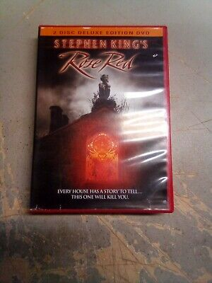 Stephen King's Rose Red (DVD, 2 Disc Red Case Deluxe Edition) W Insert RARE OOP