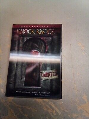 Knock Knock DVD Unrated W Hologram Slipcover