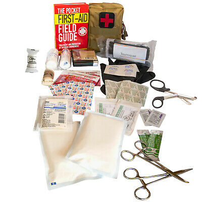 IFAK Tactical Trauma First Aid Medical Kit Survival Packs Disaster Preparedness