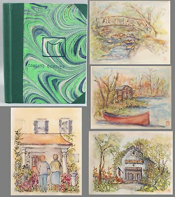 Margaret Alvarez De Toledo CONCORD MASSACHUSETTS Watercolor Paintings Sketchbook