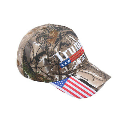 Donald Trump 2020 Camo Embroidered Hat Keep Make America Great Again Cap Gift