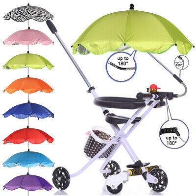 Shade Canopy Covers Baby Sun Umbrella Pushchair Canopy Protect Parasol Buggy
