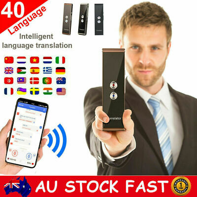 Portable Muama Enence Smart Instant Real Time Voice 40 Languages Translator BT