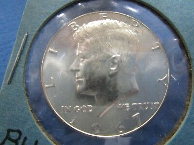 1967 USA 40% Silver Kennedy Half Dollar  UNC Proof Like
