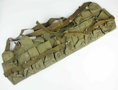 Vietnam Era Chinese Military Type 56 Canvas Ammo Pouch SKS Pouch Webbing