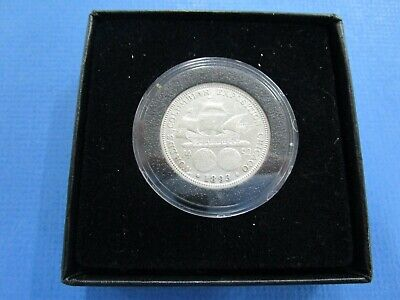 1893  US Columbian Expo Commemorative Half Dollar,  Silver Coin  VF