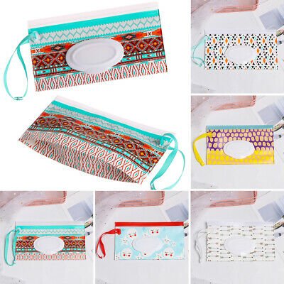 Case Baby Product Cosmetic Pouch Tissue Box Wet Wipes Bag Stroller Accessories