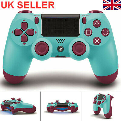 Official Playstation Dualshock 4 Wireless Controller -  Burry Blue Ps4- Uk Ship