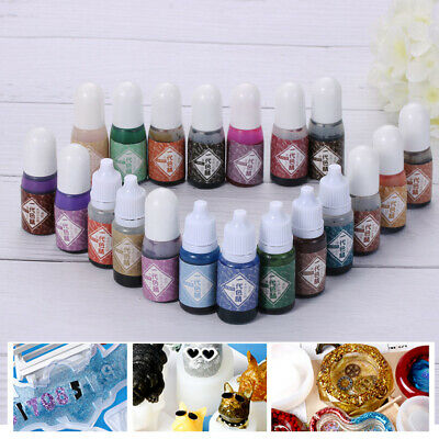 10g Coloring Dye Colorant Epoxy Color UV Resin Oily Resin Pigment Art Crafts UK