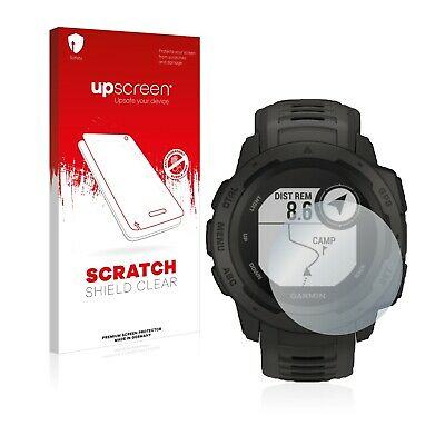upscreen Scratch Display Schutzfolie für Garmin Instinct Tactical Edition