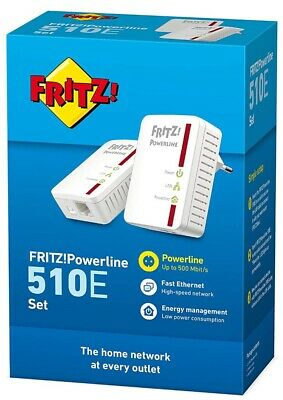 AVM FRITZ! Powerline 510E WLAN Set , 500 MBit/s