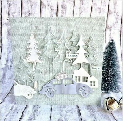 Christmas Tree Metal Cutting Dies Stencil DIY Album Embossing Craft decoration