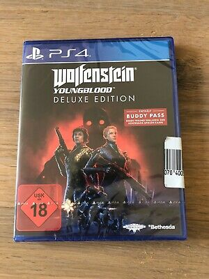 Wolfenstein Youngblood - Deluxe Edition - Neuware - PS4 - inkl. Buddy Pass