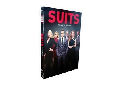 Suits: The Complete Eighth Season 8 (DVD, 2019, 4-Disc Set)