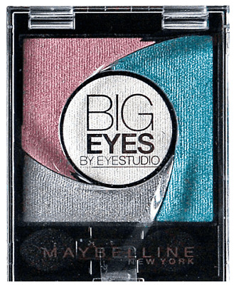 Maybelline Big Eyes Oogschaduw Palette - 03 Luminous Turquoise 5,37g