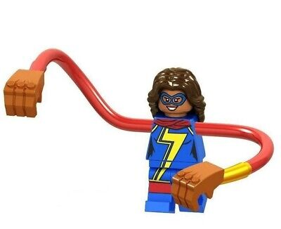 Captain Ms Marvel Avengers Building Blocks Minifigures Superhero Glove Hand 2020