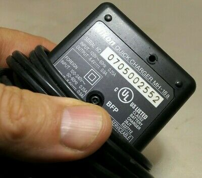 Nikon MH-18a AC Battery charger adapter for EN-EL3-E cameras Genuine Original