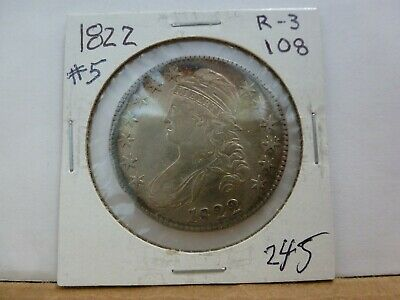 1822 Capped Bust Silver Half Dollar #5