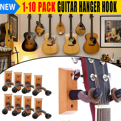 TopStage Guitar Hanger Stand Holder Wall Mount Display Anchor Grak1 Musical