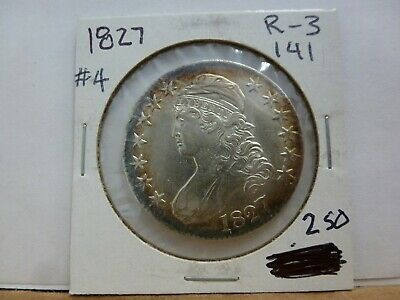 1827 Capped Bust Silver Half Dollar #4
