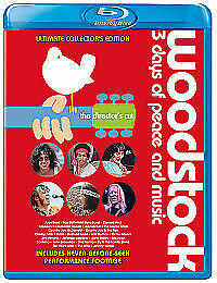 Woodstock [Blu-ray] [2009] [Region Free], New, DVD, FREE & Fast Delivery