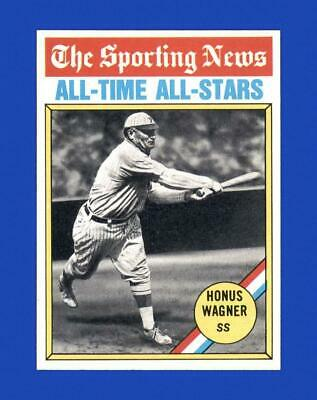 1976 Topps Set Break #344 Honus Wagner NM-MT OR BETTER *GMCARDS*