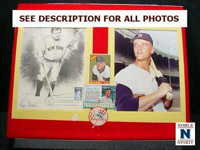 NobleSpirit  NO RESERVE (3970) Roger Maris Collection w/ Autograph