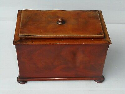 Rosewood Tea Caddy Early 19th century Antique